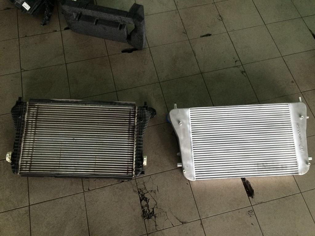 Why no reviews on unitronics intercooler? - Page 2 - VW GTI