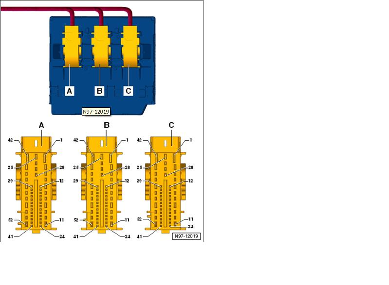 Complete J519 Cecm Pin Out Vw Gti Mkvi Forum Vw Golf R