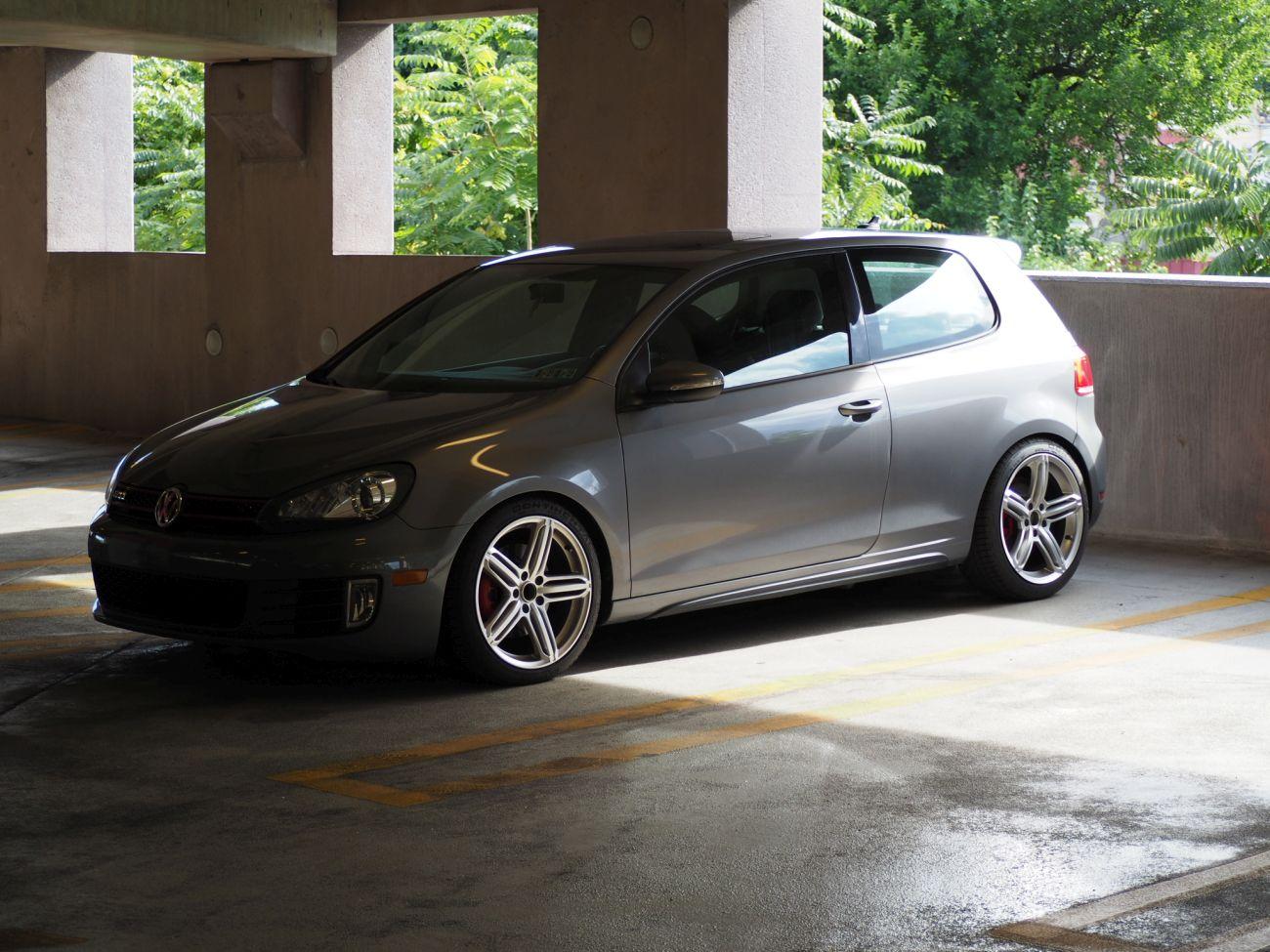 FS (PA): 2012 GTI - 2 Door - United Gray - Unitronic Stg 2 - VW GTI