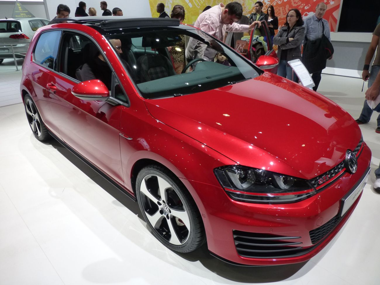Checked out the vin of the gti and golf they are wvw made in wolfsburg i don t think the mexican factory has started cranking them out yet