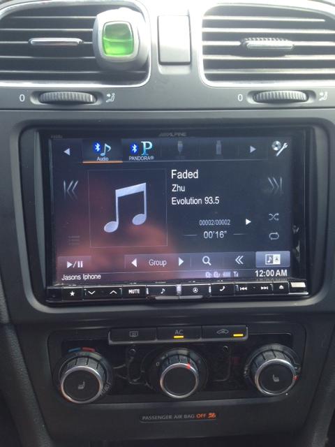 Idatalink Maestro for VW radio replacement: - VW GTI MKVI